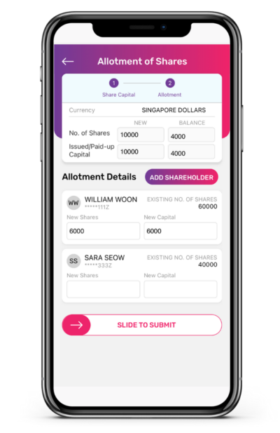 Allotment of Shares to Shareholders App Guide 5 400x617 1