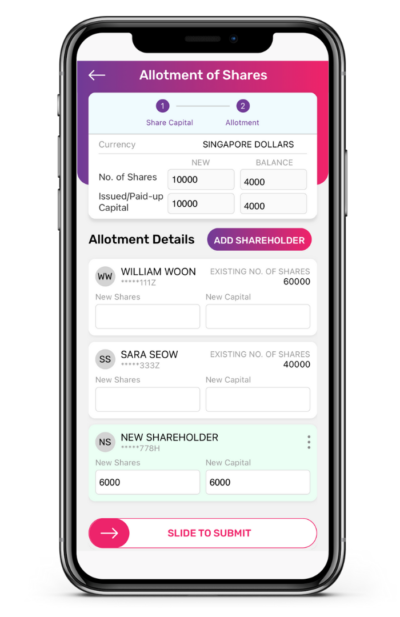 Allotment of Shares to Shareholders App Guide 7 400x617 1