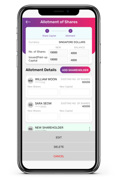 Allotment of Shares to Shareholders App Guide 8 400x617 1