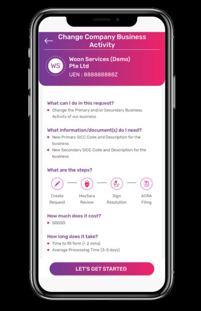 Change of Business Activities App Guide 3 400x617 1