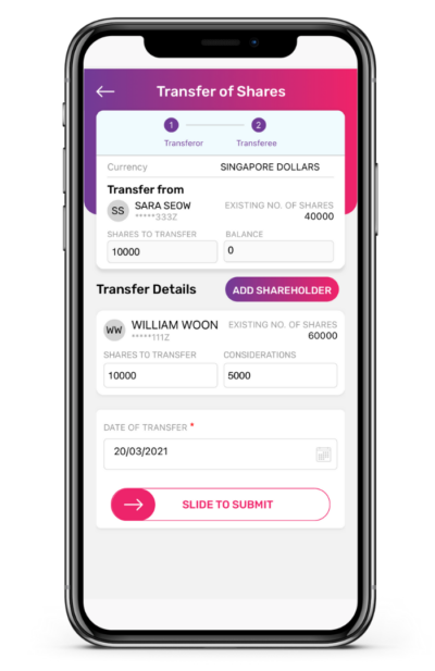 Transfer of Shares to Shareholders App Guide 5 400x617 1